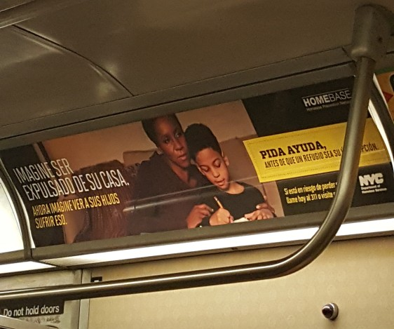 Afro Latinos in NYC DOH Advertisement